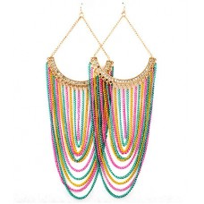 Colorful Chandelier Earring