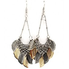 Leaf Chandelier Earring